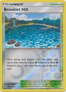 SM Guardians Rising, Brooklet Hill - 120/145 - Uncommon Reverse Holo