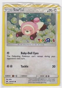 Pokemon Promo - Stufful - 110/147 - Sealed Toys R Us Promo