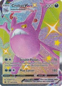 Pokemon Sw&Sh Promo - Crobat VMAX - SWSH099 - Shiny Promo