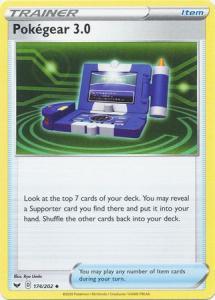 Pokemon SWSH: Base Set – Pokegear 3.0 – 174/202 - Uncommon