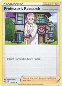 Pokemon SWSH: Professor's Research - 178/202 - Rare Theme Deck Exclusive