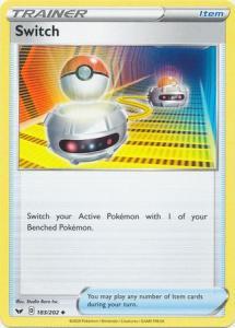 Pokemon SWSH: Base Set - Switch - 183/202 - Uncommon