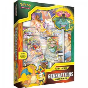 Pokémon, TAG Team Generations - Premium Collection (Charizard & Braixen)