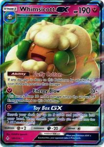 Pokemon S&M: Unbroken Bonds - Whimsicott GX - 140/214 - Ultra Rare
