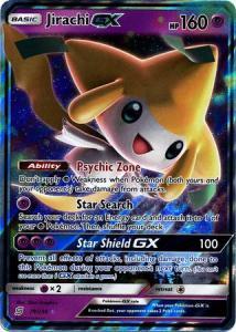Pokemon S&M: Unified Minds - Jirachi GX - 79/236 - Ultra Rare