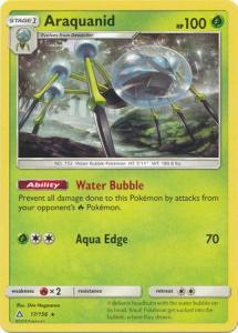 SM Ultra Prism Araquanid 017/156  Rare
