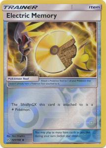 SM Ultra Prism Electric Memory 121/156 Reverse Uncommon