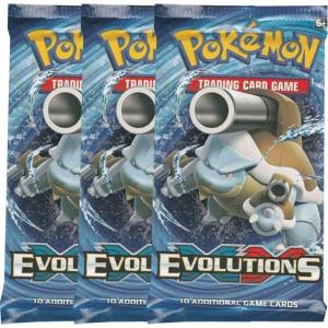 Pokémon, XY Evolutions, 3 Boosters