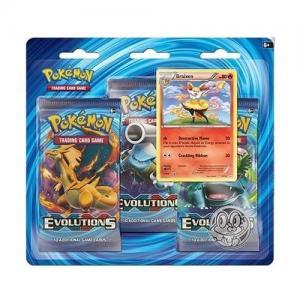 Pokémon, XY Evolutions, Trippelblister - Braixen