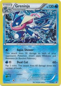 Pokémon, XY Promo Cards, Greninja - XY162 - Holo