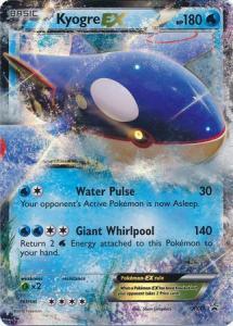 Pokemon XY Promos Kyogre EX - XY41 - Ultra Rare Promo