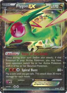 Pokemon XY Promos Flygon EX - XY61 - Ultra Rare Promo