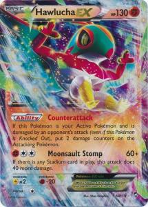 XY: Furious Fists, Hawlucha EX, 64/111, Ultra Rare