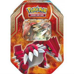 Pokémon, Legends of Hoenn Tin, Groudon EX