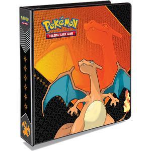 Pokemon, pärm för lösa plastfickor - 3 ringspärm - Charizard (Classic)