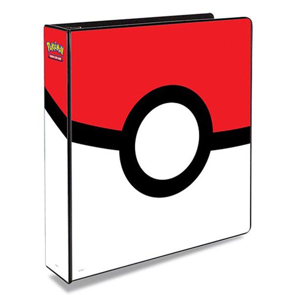 Pokemon, pärm för lösa plastfickor - 3 ringspärm - Pokeball
