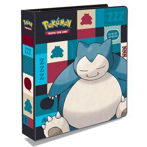 Pokemon, pärm för lösa plastfickor - 3 ringspärm - Snorlax