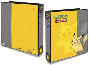 Pokemon, pärm för lösa plastfickor - 3 ringspärm - Pikachu