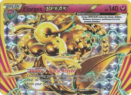 Breakthrough, Florges Break - 104/162 - Ultra Rare