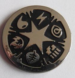 Pokémon, Coin, Type Symbols - Silver