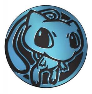 Pokemon - Mew - Coin (Blue Matte Holofoil)