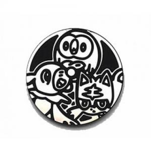 Pokemon - Popplio, Litten & Rowlet - Coin (Silver)