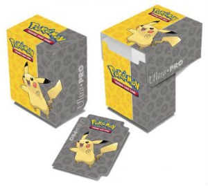Pokémon Deck Box, Ultra Pro, Pikachu, 80 kort