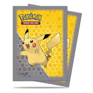 Pokémon, Deck Protector Sleeves Ultra Pro, Pikachu Grey - 65st