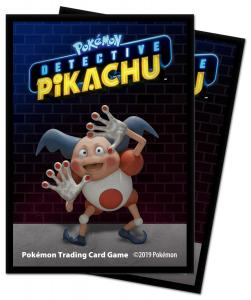 Pokémon: Detective Pikachu - Mr.Mime Deck Protector sleeves 65st