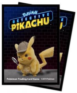 Pokémon: Detective Pikachu - Pikachu Deck Protector sleeves 65st