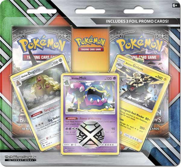 Pokémon, Enhanced 2-Pack Blister Alolan Muk [Roaring Skies & Crimson Invasion]