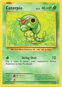XY12 Evolutions, Caterpie - 3/108 - Common