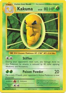 XY12 Evolutions, Kakuna - 6/108 - Uncommon