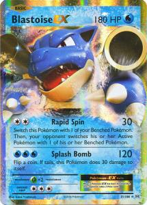 XY12 Evolutions, Blastoise EX - 21/108 - Ultra Rare
