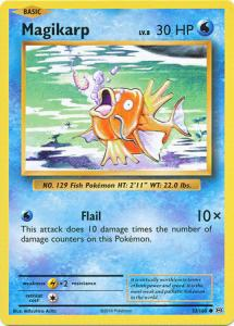 XY12 Evolutions, Magikarp - 33/108 - Common