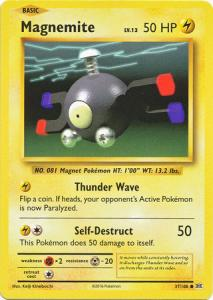 XY12 Evolutions, Magnemite - 37/108 - Common