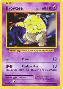 XY12 Evolutions, Drowzee - 49/108 - Common