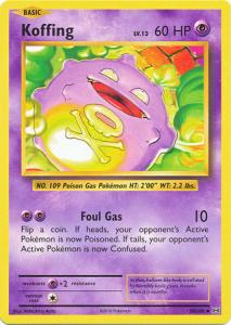 XY12 Evolutions, Koffing - 50/108 - Uncommon
