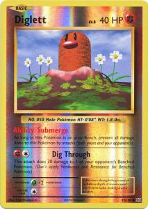 XY12 Evolutions, Diglett - 55/108 - Common Reverse Holo