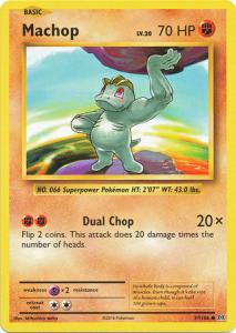 XY12 Evolutions, Machop - 57/108 - Common