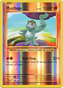 XY12 Evolutions, Machop - 57/108 - Common Reverse Holo