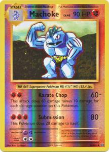 XY12 Evolutions, Machoke - 58/108 - Uncommon Reverse Holo