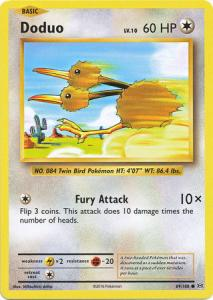 XY12 Evolutions, Doduo - 69/108 - Common