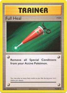 XY12 Evolutions, Full Heal - 78/108 - Uncommon