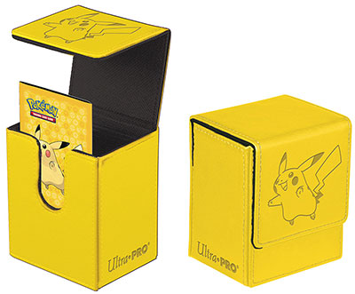 Pokémon Flip Box, Ultra Pro, Pikachu, Rymmer ca. 100 kort