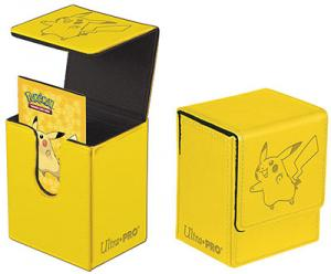 Pokémon Flip Box, Ultra Pro, Pikachu, Can hold up to 100 cards