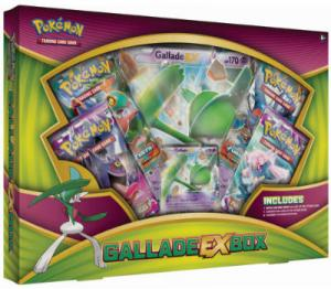 Pokémon, Gallade EX Box