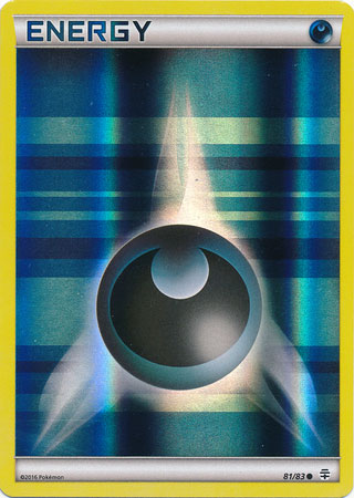 Generations, Darkness Energy - 81/83 - Common Reverse Holo