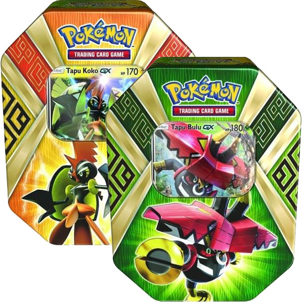 pokémon island guardians tin x 2