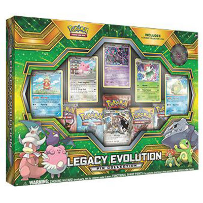 Pokémon, Legacy Evolution Pin Collection (Steelix EX)